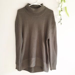 Vince Camuto Chunky Knit Oversized Sweater Grey